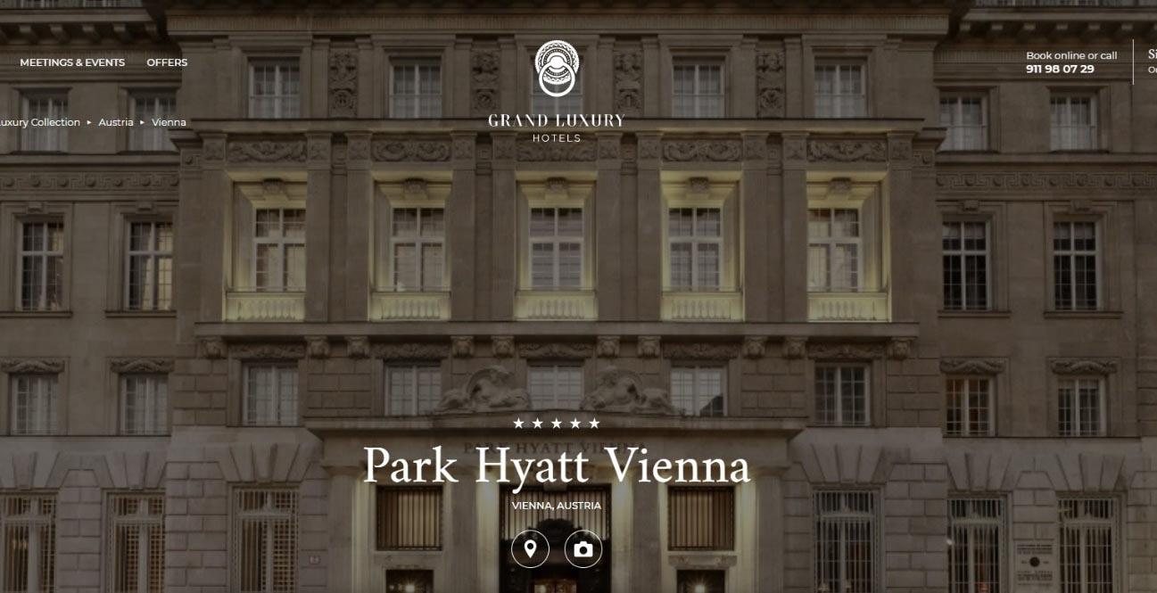 Park Hyarr Vienna es un hotel muy exclusivo para humanos y mascotas