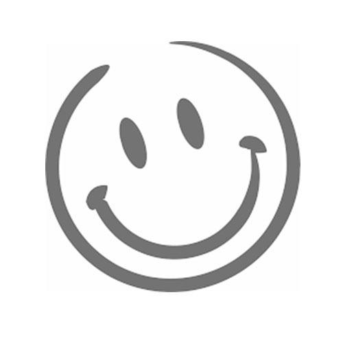 Cara sonriente significa hogar feliz para todos