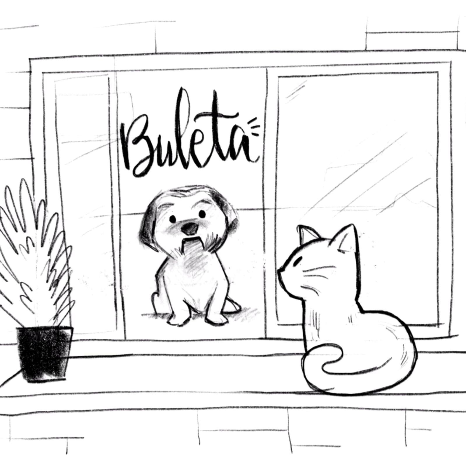 Ruli & Buleta, me pareció ver a un lindo gatito