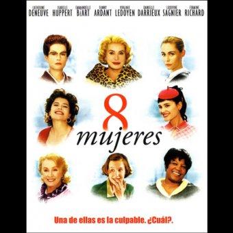 Ocho mujeres de edades diferentes aparecen en el cartel de esta película francesa